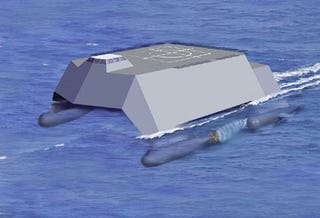 Illustration for article titled Navy Developing All-Electric Warship