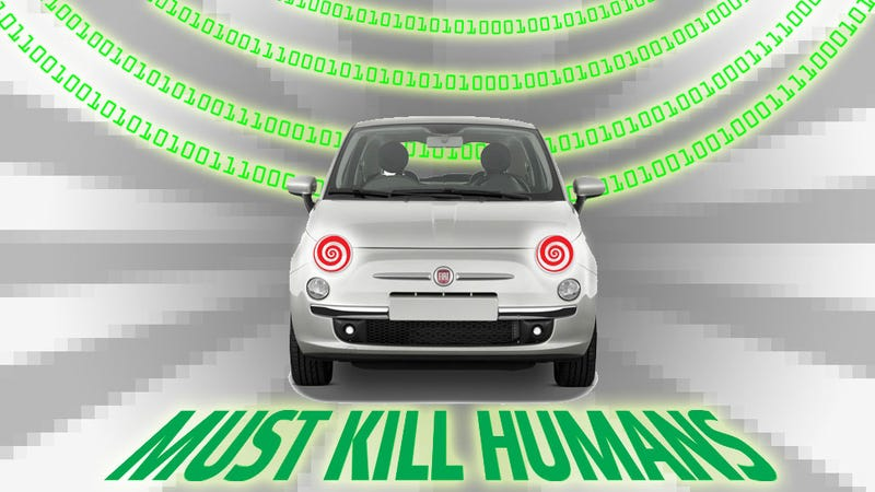 Illustration for article titled AOL's  Story About Terrorist Carhacking Is Fearmongering Bullshit