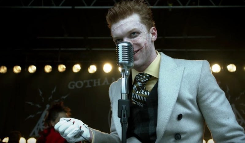 Jerome (Cameron Monaghan), who, despite all appearances, is not the Joker. Probably.
