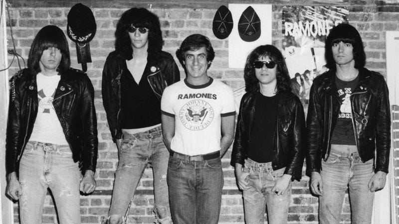 Ramones and Danny Fields (Photo: Magnolia Pictures)