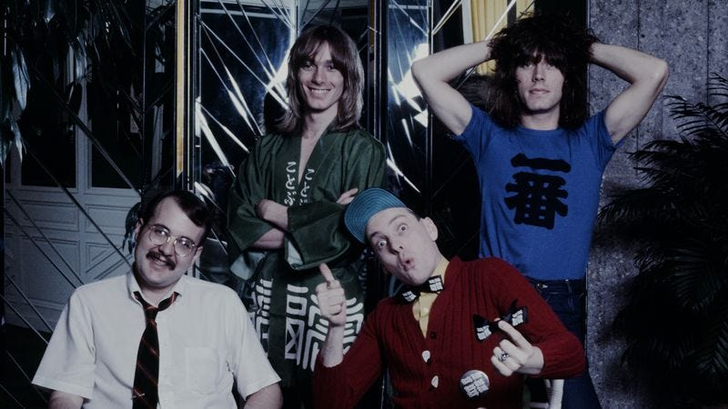 Cheap Trick in Tokyo, 1978. (Photo by Koh Hasebe/Shinko Music/Getty Images)