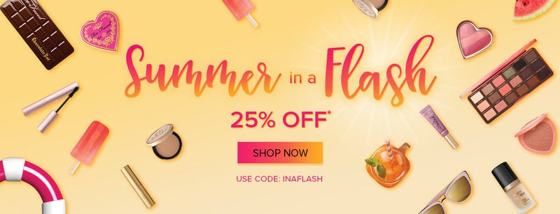 25% off everything with code INAFLASH