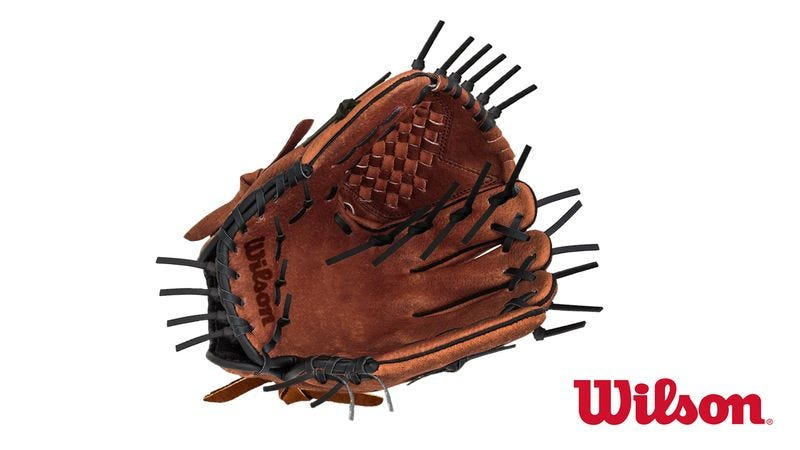 Wilson's new baseball glove.