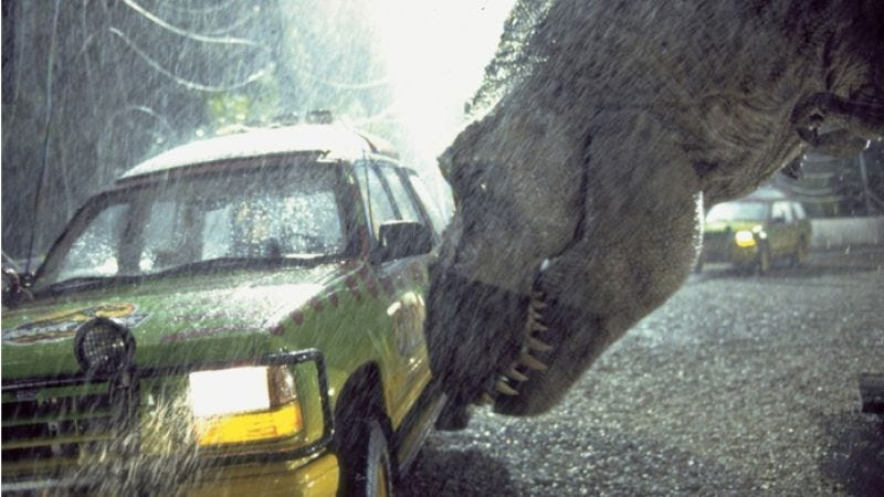 Illustration for article titled Steven Spielberg is serious about making Jurassic Park 4