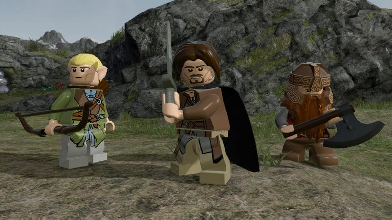 Illustration for article titled Lego Lord of the Rings Is The Cutest Lego Video Game Ever Made