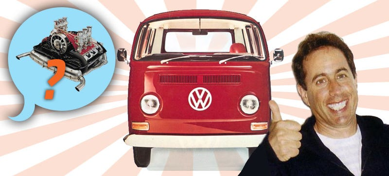 Illustration for article titled Sony Leak: Jerry Seinfeld Helps Sony Exec Build Porsche-Powered VW Bus