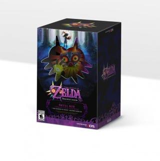 Illustration for article titled The Legend of Zelda: Majora's Mask 3DS Limited Edition US