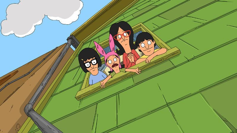 bobs burgers christmas in the car