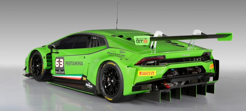 Illustration for article titled The Lamborghini Huracán GT3 Will Make You Soil Yourself In Glee