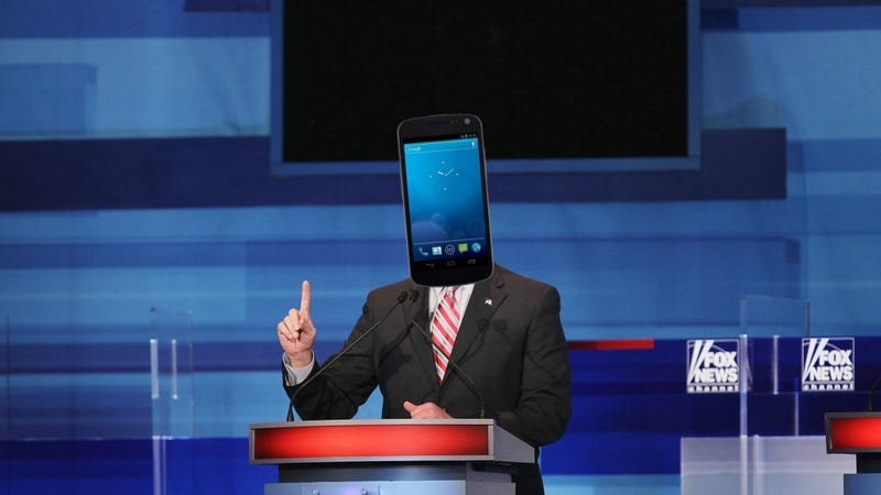 Illustration for article titled Romney Is an iPhone: A Gadget Lover's Guide to GOP Candidates