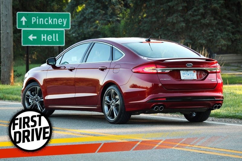 The  Ford Fusion Sport Is Not The Audi Slayer We Wanted