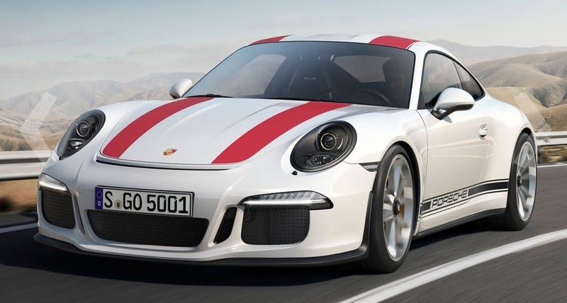 The 2017 porsche 911 r will be the best manual 911 you cant buy sciox Images