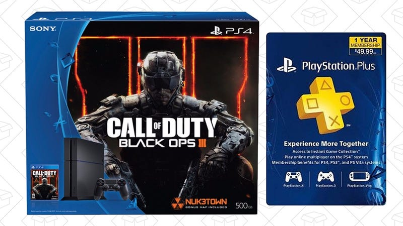 PlayStation 4 Call of Duty Bundle + PlayStation Plus, $400