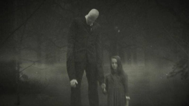 Illustration for article titled Beware The Slenderman argues that modern boogeymen aren't terrifying—their effects are