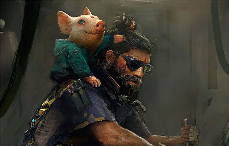 Illustration for article titled May God Have Mercy On Beyond Good & Evil 2
