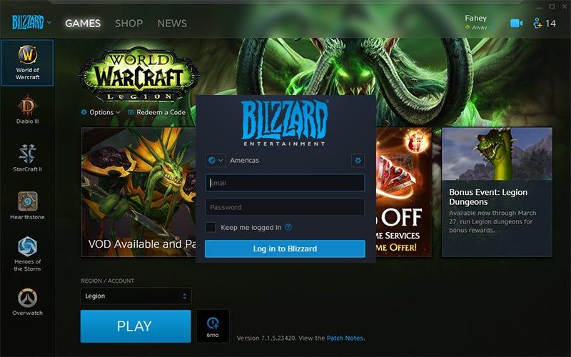 The Battlenet Launcher Is Just The Blizzard Launcher Now