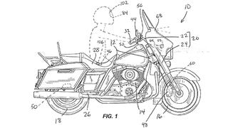 Illustration for article titled Harley Davidson Is Working On Automatic Emergency Braking Technology For Bikes