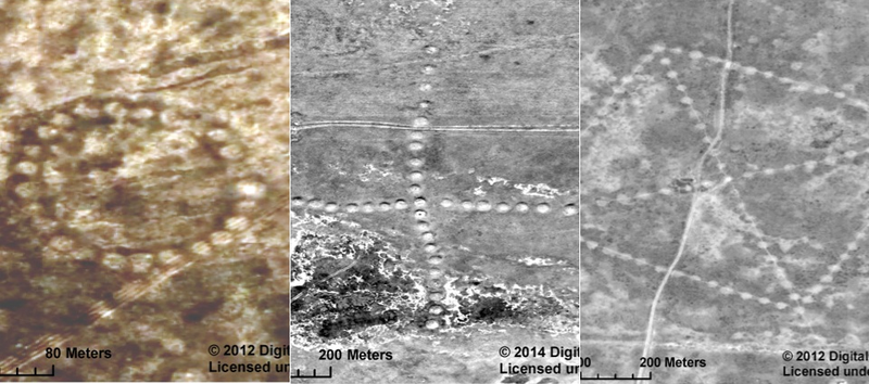Illustration for article titled Newly-Discovered Geoglyphs Are So Big, NASA Is Helping Study Them From Space