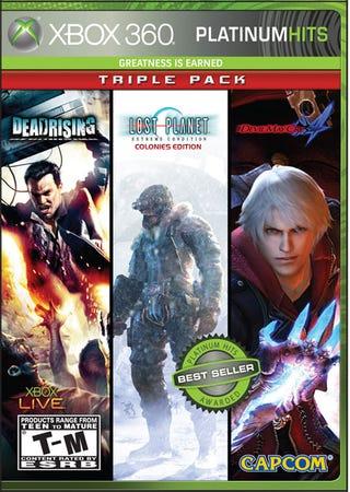 Illustration for article titled Three Capcom 360 Platinum Hits, One Box