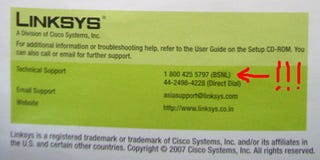 Illustration for article titled Linksys Seizes Misprinted Hotline Number, Puts An End To Sexy Party