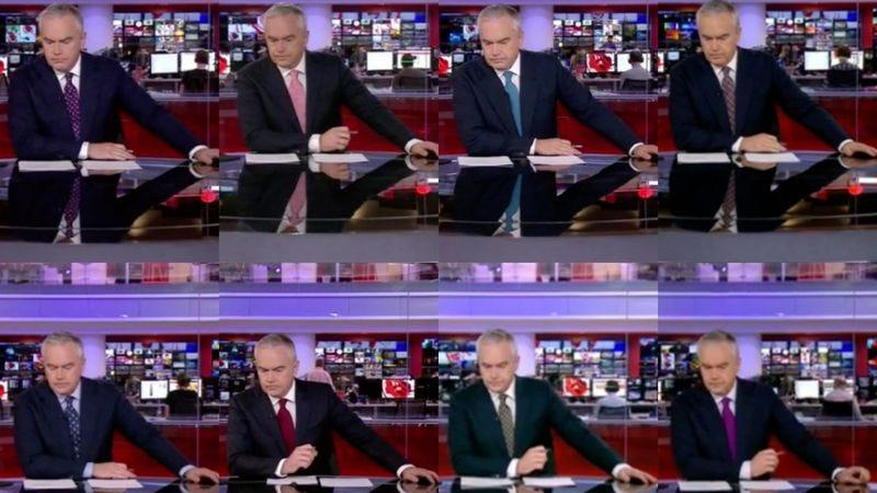 Hue Edwards, again and again (Screenshots: Huws At Ten)