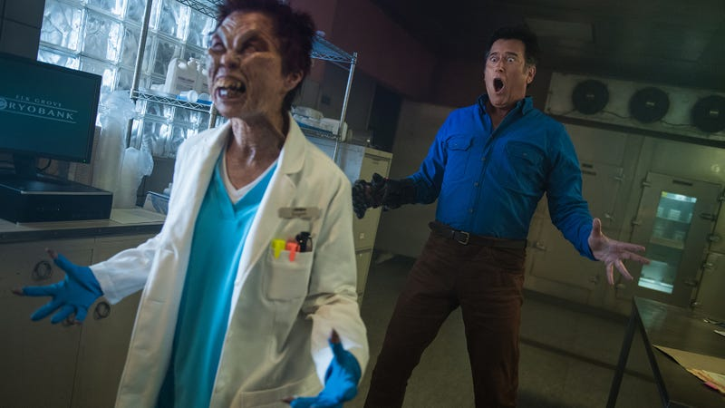 The 13 Most Awesomely Disgusting Ash vs  Evil Dead Moments