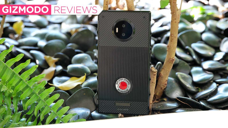Illustration for article titled The Red Hydrogen One Is a Phone Made for an Alternate Reality