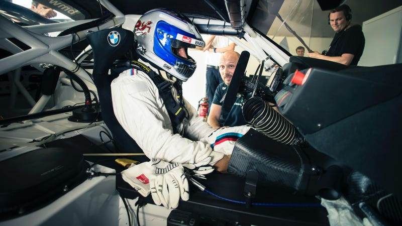 Zanardi in his Z4 GT3 for the 24 Hours of Spa-Francorchamps. Photo credit: BMW