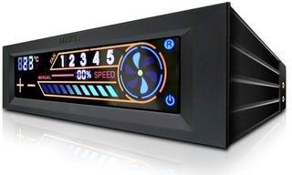 Illustration for article titled NZXT Sentry 2 Touchscreen Fan Belongs In KITT's Dashboard