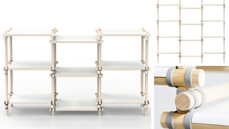 Illustration for article titled All Ready-To-Assemble Furniture Should Be Held Together With Rubber Bands