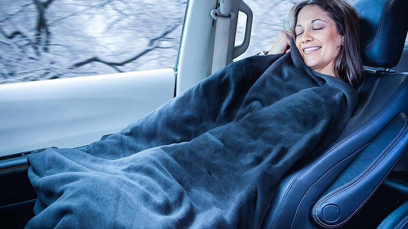 2-Pack Heated Car Blankets | $45 | Daily Steals | Promo code KJBLANKET2