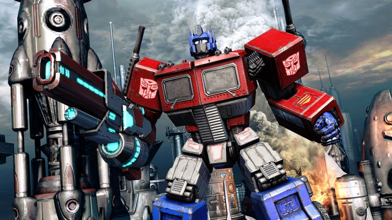 Illustration for article titled The Real Optimus Prime is a Fall of Cybertron Preorder Bonus