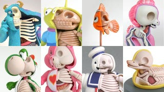 Illustration for article titled The secret anatomy of toys and animated movie characters