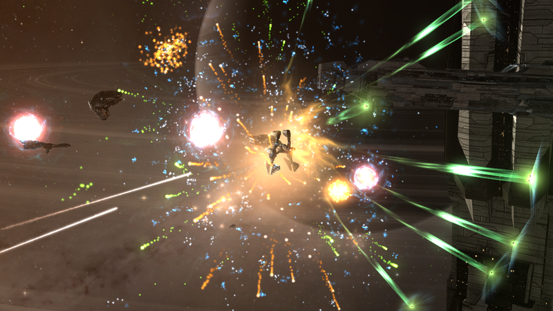 An EVE Online Funeral Means Ozone-Light Vigils And Spaceship Sacrifices