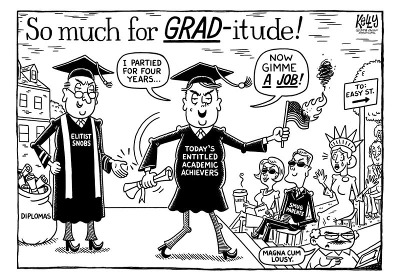 Illustration for article titled Commencement, A Duress