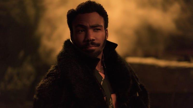 Donald Glover as Lando Calrissian.