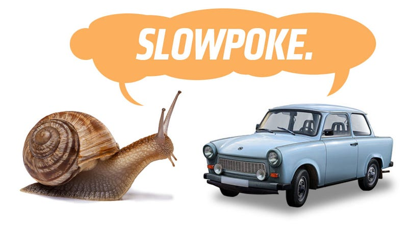 Illustration for article titled A Bunch Of Snails Destroyed A Trabant