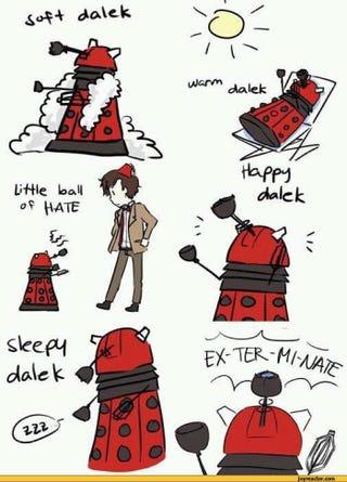 Illustration for article titled Big Bang Dalek