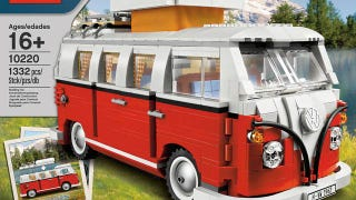 Illustration for article titled Lego Volkswagen Camper Van Is a Must Have Model Even If You're Not a Damn Hippie