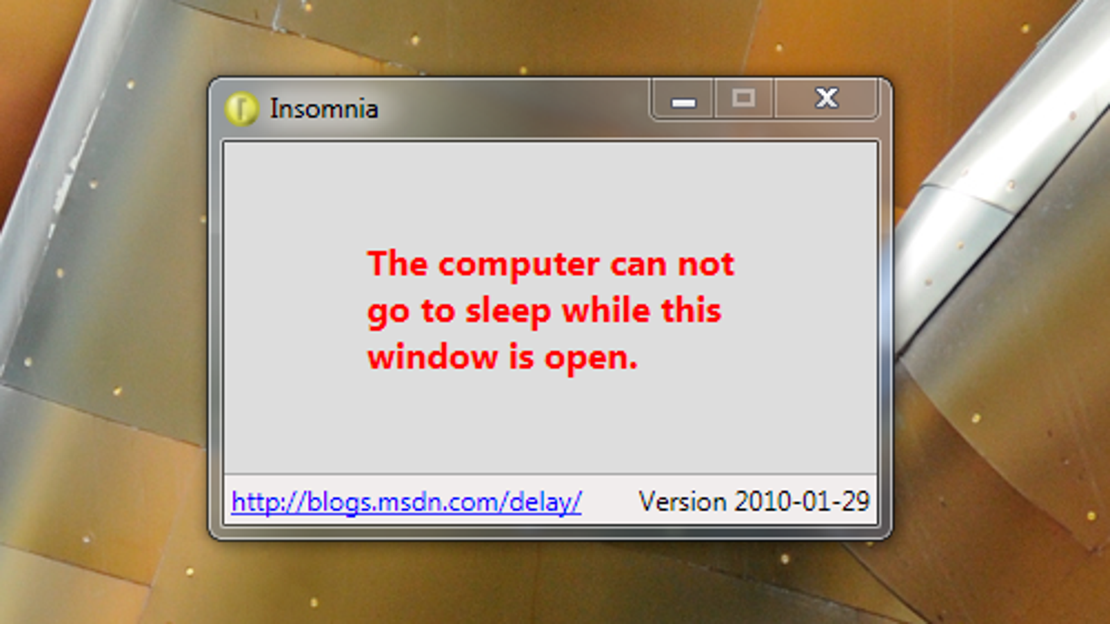 Insomnia Keeps Your Windows PC from Going to Sleep