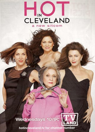 Illustration for article titled Airbrushing Betty White For Hot In Cleveland? That's Cold!