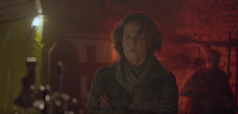 Sigourney Weaver Pops Up in a Weird New Trailer for Neill