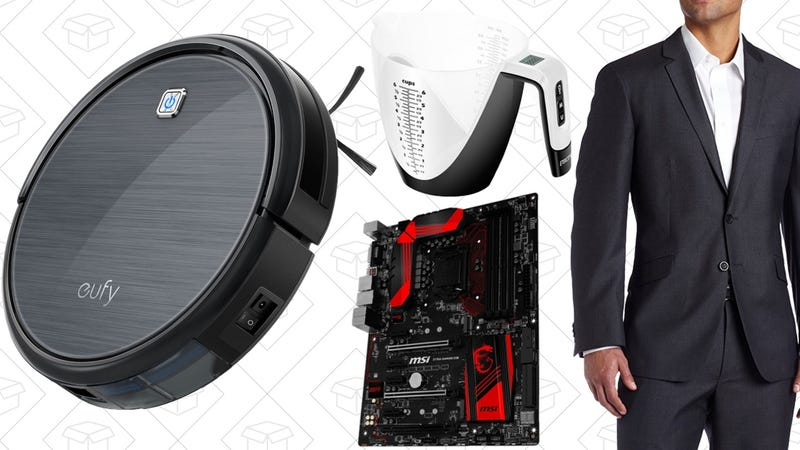 Illustration for article titled Today's Best Deals: $30 Off Professional Cleaning, Men's Suiting, PC Parts Gold Box, and More