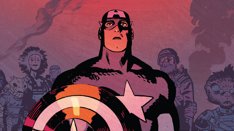 It's the end of the world as we know it, and Steve Rogers is not feeling fine.