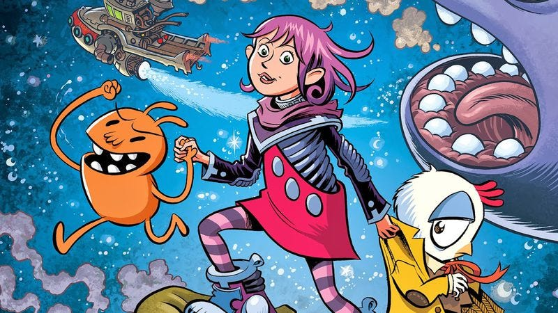 Illustration for article titled Thompson's Space Dumplins delivers a stunning all-ages cosmic adventure