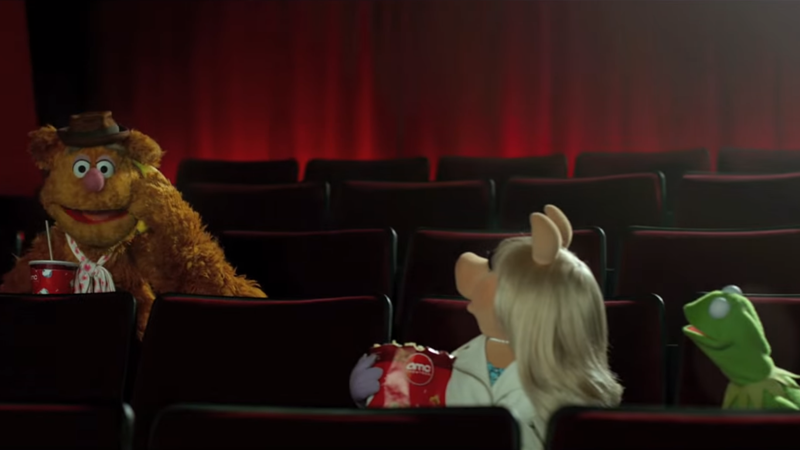 No talking into Bananas, either. (Image: AMC Theaters PSA about Movie Theater Etiquette, starring the Muppets. Screenshot via Youtube.)