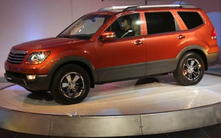 Illustration for article titled Detroit Auto Show: 2009 Kia Borrego officially unveiled