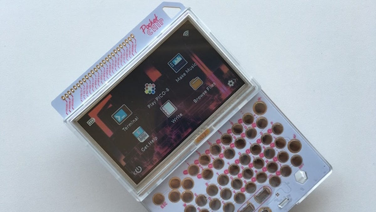 The PocketC H I P  Is the Handheld Linux Machine I've Been
