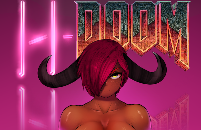 Illustration for article titled The Difficulties Of Turning Doom Into A Sex Game