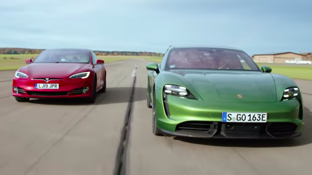 Here s How The Porsche Taycan Did Against The Quickest Tesla Model S [Updated]
